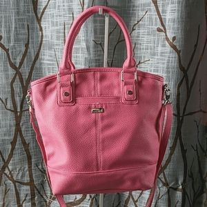 Thirty-One Jewell Paris Purse Candy Pink